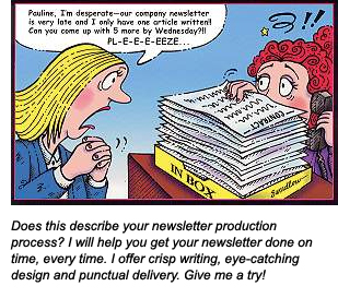 Newsletter production process